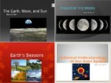 SOL 4.8: Earth, Moon, Sun Powerpoint Bundle