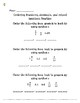 SOL 5.2 ALIGNED Ordering Fractions and Decimals Notes and Practice