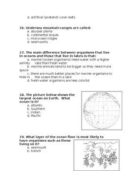 SOL 5.6 Ocean Unit Assessment