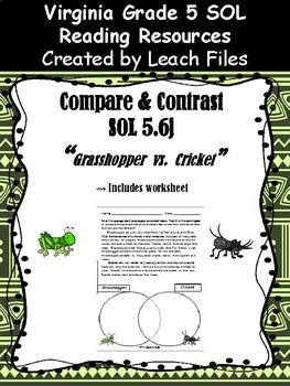 SOL 5.6j COMPARE&CONTRAST: GRASSHOPPER VS CRICKET