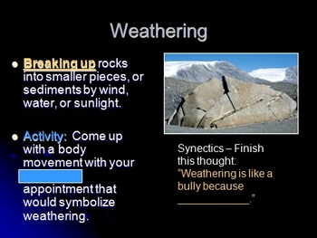 Science SOL 5.7 Changing Earth & Rock Cycle Interactive 3-week Unit PPT