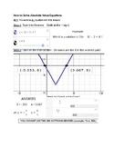 Desmos Solve Absolute Value Equation Calculator Tricks