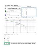 Desmos Solve Radical Equation Calculator Tricks