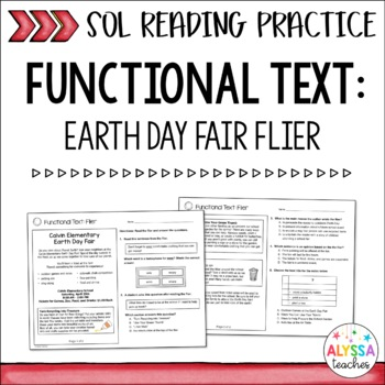 SOL Flier Practice Worksheets (SOL 4.4 and 4.6)