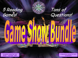SOL Game Show Bundle - Five 3rd Grade Reading Review Games