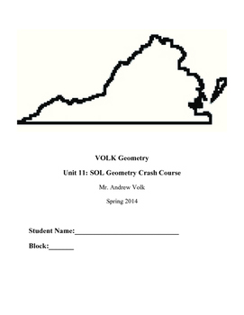 SOL Geometry Study Guide Notebook (Teacher Edition)