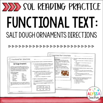 SOL How-To Flier Practice Worksheets (SOL 4.4 and 4.6)