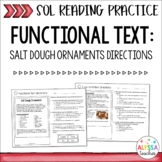 Functional Text - Directions (SOL 4.4 & 4.6) - Print & Digital