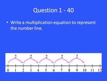 SOL Jeopardy Multiplication and Division Unit test prep