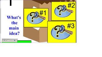 SOL Main Idea Bag review 3rd Grade