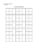 VA SOL Math Aid Grid Blocks