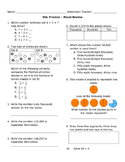SOL Math Mixed Review