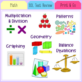 SOL Math Test Review (Small Packet)