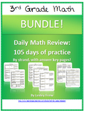 SOL (2009) Morning Work by Strand - 3rd Grade Math BUNDLE
