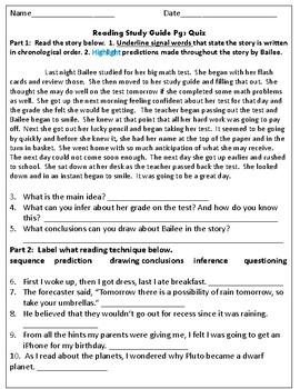 SOL Test Prep Quiz 4