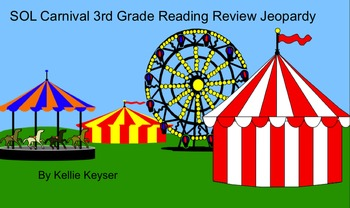 SOL Reading Review Carnival Game