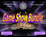 SOL Reading Review Game Show Bundle- Three 4th Grade Games