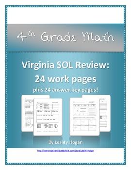 SOL Review - 4th Grade Math