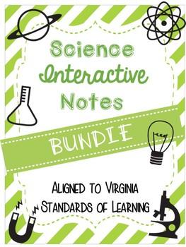 SOL Science Notes Bundle