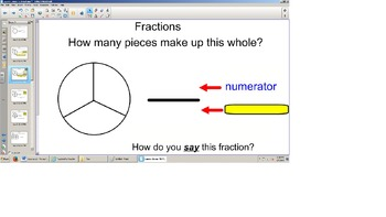 SOL TEI 3rd Grade Fractions Introduction/Review and TEI Practice