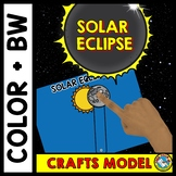 SOLAR ECLIPSE 2017 CRAFTS MODEL ⚫ SOLAR ECLIPSE 2017 ACTIVITIES