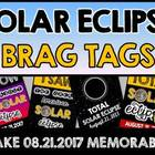 SOLAR ECLIPSE 2017 ACTIVITIES (TOTAL SOLAR ECLIPSE BRAG TAGS)