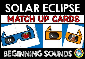 SOLAR ECLIPSE 2017 ACTIVITIES (SOLAR ECLIPSE KINDERGARTEN LITERACY CENTER)