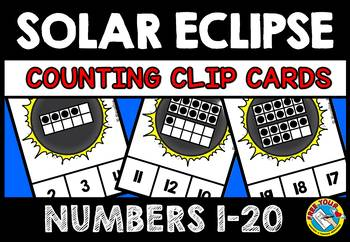 SOLAR ECLIPSE 2017 ACTIVITIES (KINDERGARTEN SOLAR ECLIPSE 2017 MATH CENTER)