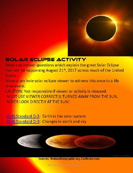 SOLAR ECLIPSE ACTIVITY