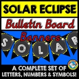 SOLAR ECLIPSE BANNERS BUILD YOUR OWN (SOLAR ECLIPSE 2017 ACTIVITIES)