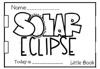 SOLAR ECLIPSE LITTLE BOOK INSTRUCTIONAL POWERPOINT(FREE)