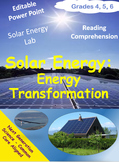 Solar Energy - Energy Transformation – How We Use Energy F