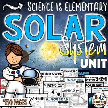 Solar System Unit Bundle with Space Science Collaborative Posters