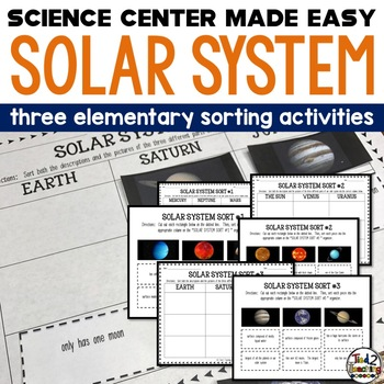 SOLAR SYSTEM - 3 NO PREP SORTING ACTIVITIES