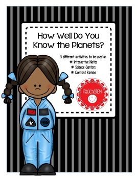 STEM Solar System How Well Do You Know the Planets? (Inter