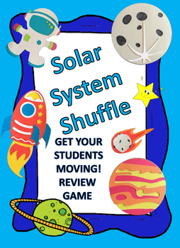SOLAR SYSTEM SHUFFLE REVIEW GAME