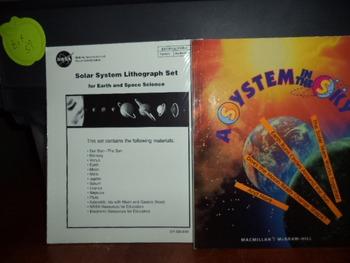 SOLAR SYSTEM SSYSTEM IN SKY  (SET OF 2)