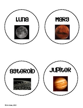 SOLAR SYSTEM Who Am I Planet Characteristics Review Activity and Quiz
