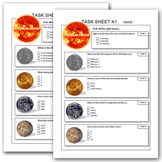 SOLAR SYSTEM task sheets ( EXTENDED )
