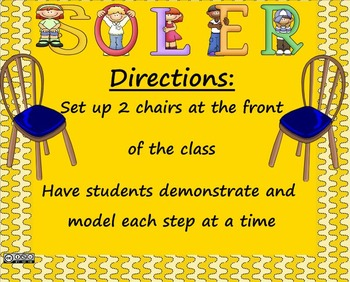 SOLER Method:  Communication and Social Skills for Kids SMARTboard lesson
