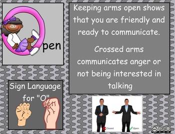 SOLER Method:  Communication and Social Skills for Kids SMARTboard lesson