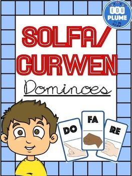 SOLFA/CURWEN DOMINOES