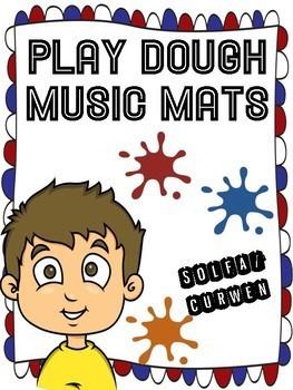 SOLFA/CURWEN PLAY DOUGH MATS