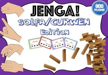 SOLFEGE MELODY/SIGHT SINGING JENGA (4 LEVELS)