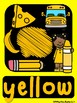 SOLID BRIGHT THEME Classroom Decor Posters- Colors