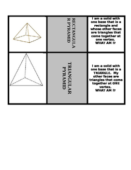 SOLID SHAPES MATCHING CENTER