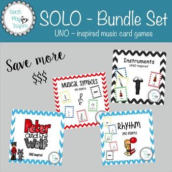 Music UNO - SOLO - Bundle Set