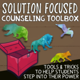 SOLUTION FOCUSED SCHOOL COUNSELING: Individual Counseling