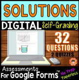 SOLUTIONS & MOLARITY ~ Self-Grading Quiz Assessments for G
