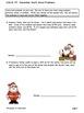 SOLVE IT! December Math Word Problem Activity Packet